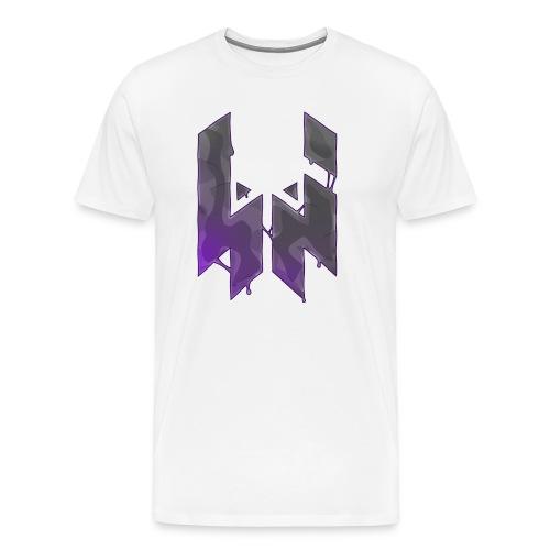 Liquify Logo Shirt Men [purple logo] - Men's Premium T-Shirt