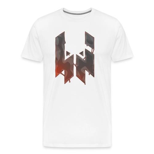Liquify Logo Shirt Men [orange logo] - Men's Premium T-Shirt