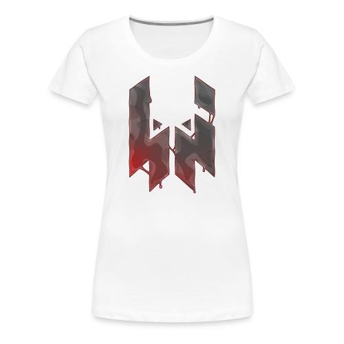 Liquify Logo Shirt Women [red logo] - Women's Premium T-Shirt