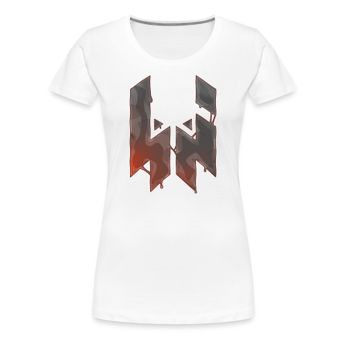 Liquify Logo Shirt Women [orange logo] - Women's Premium T-Shirt