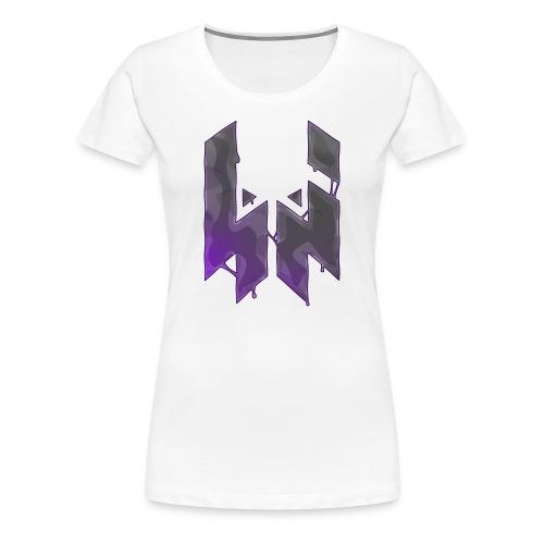 Liquify Logo Shirt Women [purple logo] - Women's Premium T-Shirt