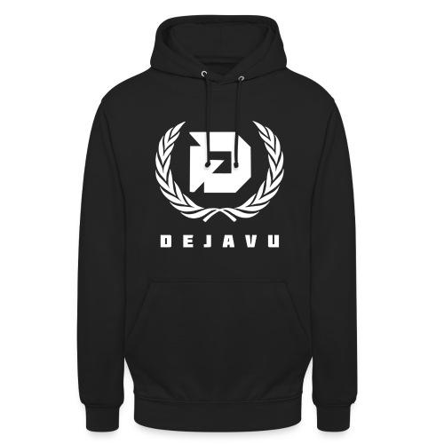 Pullover DejaVu Logo Weiß - Unisex Hoodie