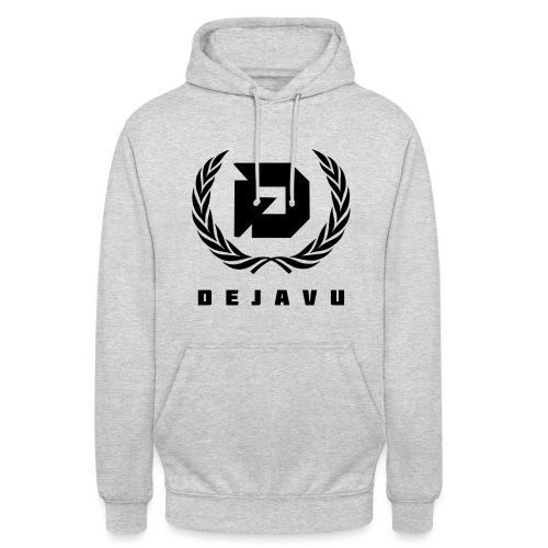 Pullover DejaVu Logo Schwarz - Unisex Hoodie