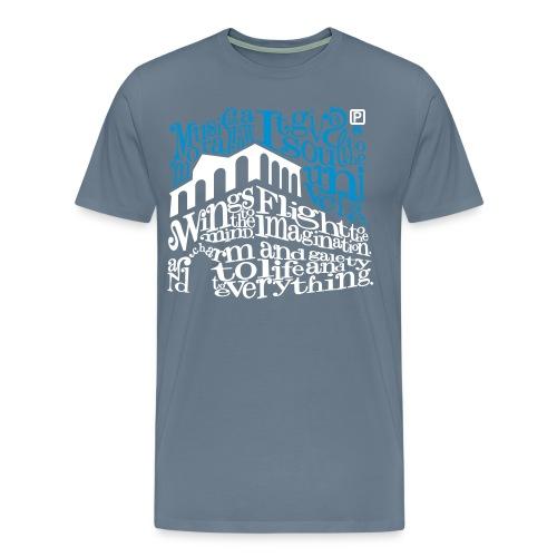 100015Q - Mannen Premium T-shirt