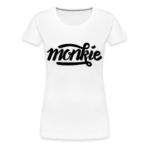WOMEN T-SHIRT MONKIE - Vrouwen Premium T-shirt