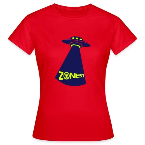 Zone 51 - T-shirt Femme