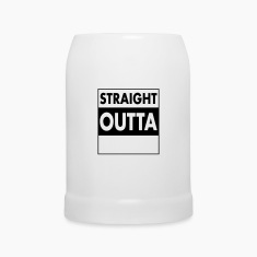 Straight Outta - Your Text (Font = Futura) Mugs & Drinkware
