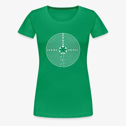 Labyrinth Frauen vorne - Frauen Premium T-Shirt