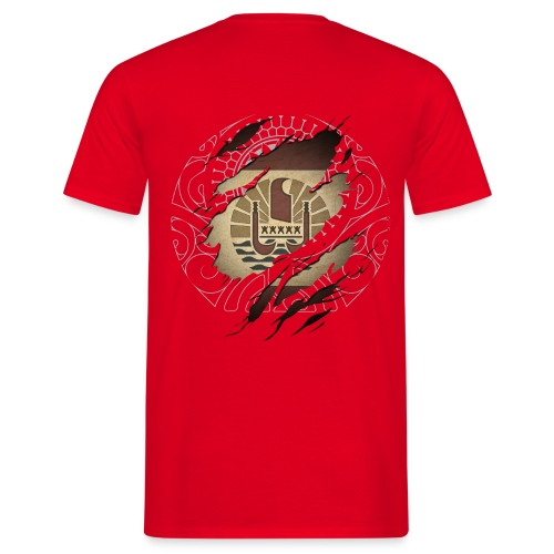 Tahiti Graff color dos  - T-shirt Homme