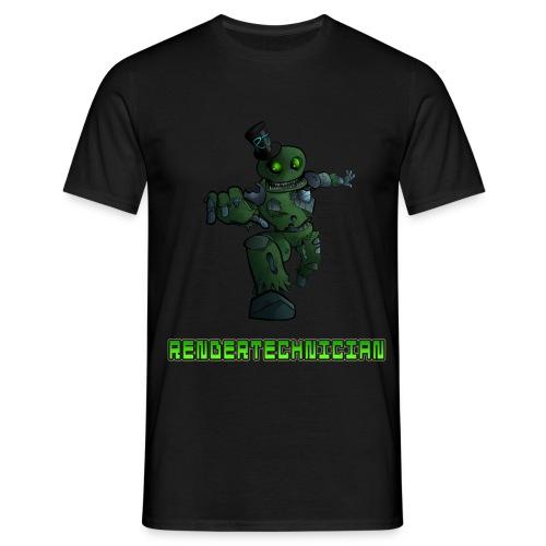 RenderTechnician V3 (Mens T shirt) - Men's T-Shirt