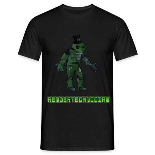 RenderTechnician V2 (Mens T shirt) - Men's T-Shirt