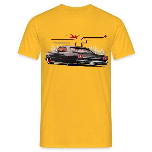 Galaxie Back - Männer T-Shirt