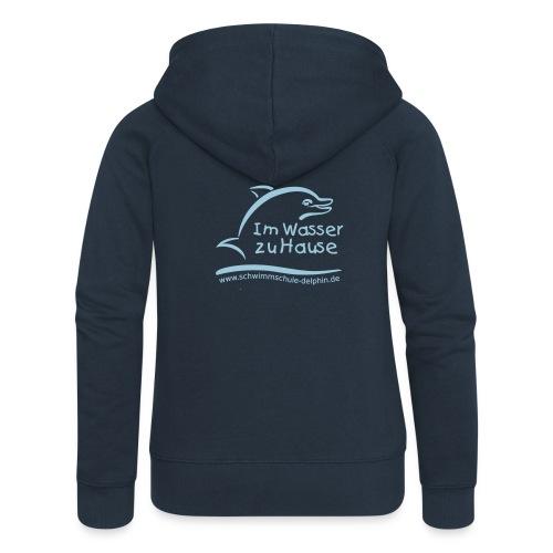 Schwimmschule Team Hoodie - Frauen Premium Kapuzenjacke