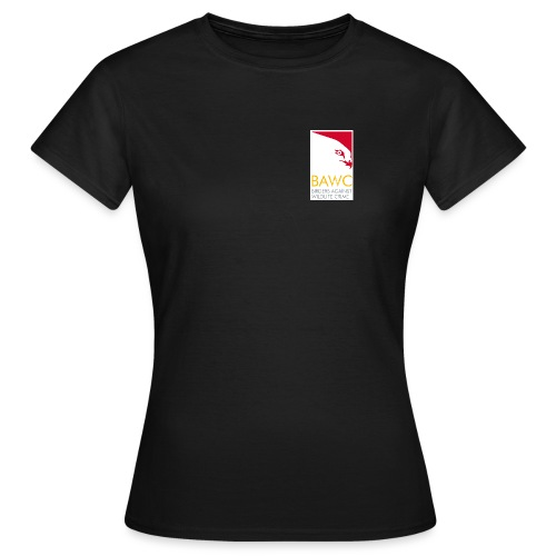 BAWC Disparate & Desperate Quote Women's Black T-Shirt - Women's T-Shirt