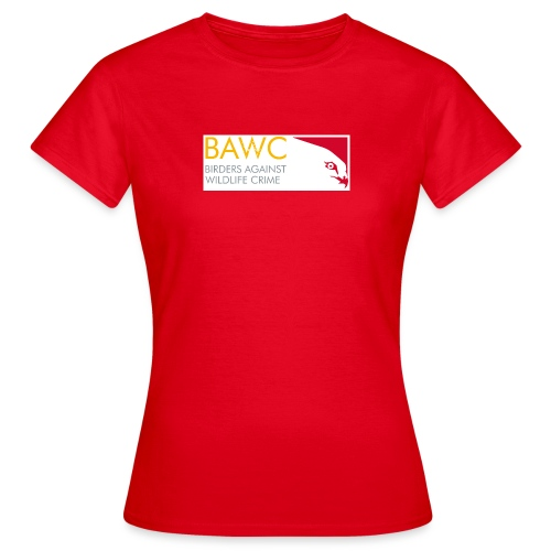 BAWC Horizontal Logo Women's Red T-Shirt - Women's T-Shirt