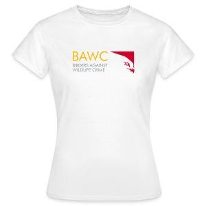 BAWC Logo and #weseeyou Hashtag Women's White T-Shirt - Women's T-Shirt