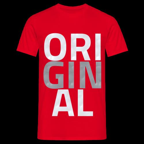 T Shirt Original Classique (ROUGE) - T-shirt Homme