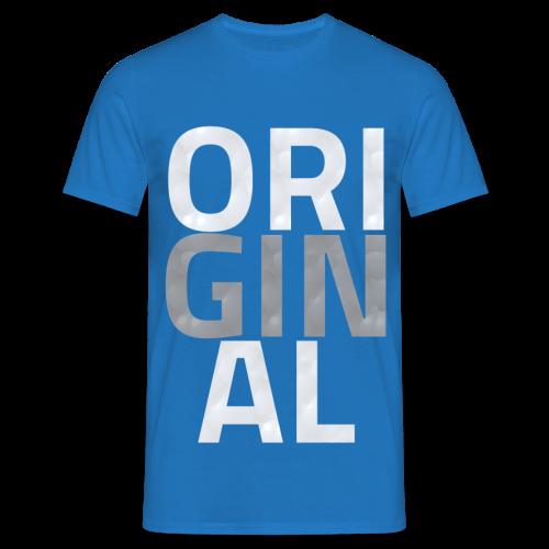 T Shirt Original Classique (BLEU ROYAL) - T-shirt Homme