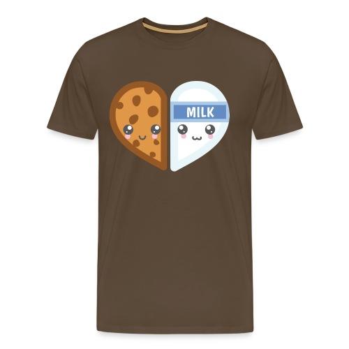 Cookie and Milk - Dennis Petersen Show - Männer Premium T-Shirt