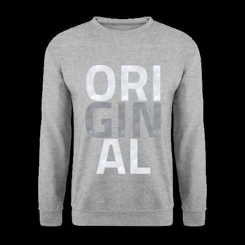 Sweat Original Classique (GRIS CHINÉ) - Sweat-shirt Homme