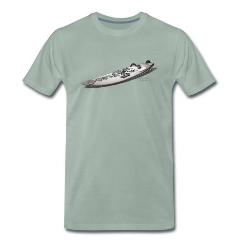 Waveboard - Männer Premium T-Shirt