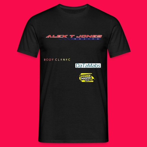 Alex T Jones Racing T-shirt - Men's T-Shirt