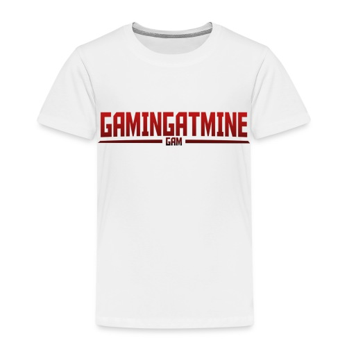 Gamingatmine T-Shirt (RED , KIDS) - Kids' Premium T-Shirt