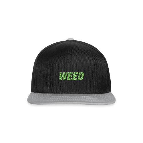 Casquette Weed logo Vert - Casquette snapback