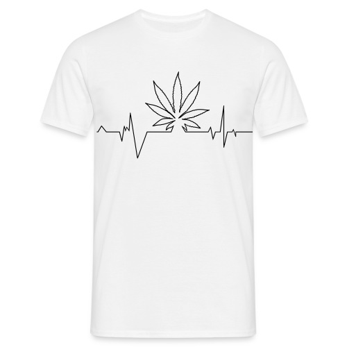 T-shirt Weed Life H - T-shirt Homme