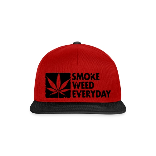 Casquette Smoke Weed - Casquette snapback
