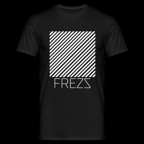 T Shirt Lignes Classique (NOIR) - T-shirt Homme
