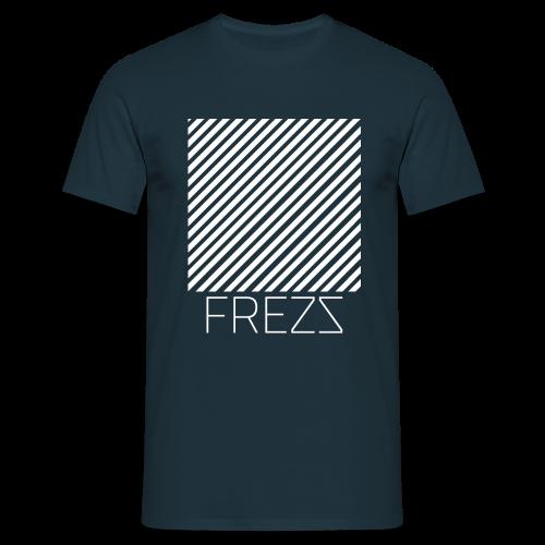 T Shirt Lignes Classique (MARINE) - T-shirt Homme