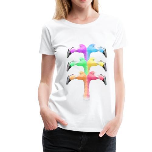 Flamingo T-Shirts - Frauen Premium T-Shirt