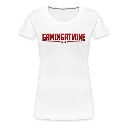 Gamingatmine T-Shirt (RED , WOMENS) - Women's Premium T-Shirt