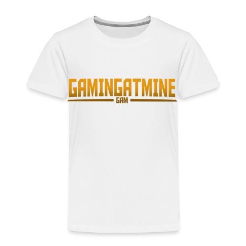 Gamingatmine T-Shirt (GOLD , KIDS) - Kids' Premium T-Shirt