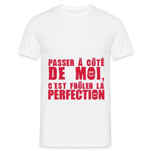 t-shirt perfection - T-shirt Homme