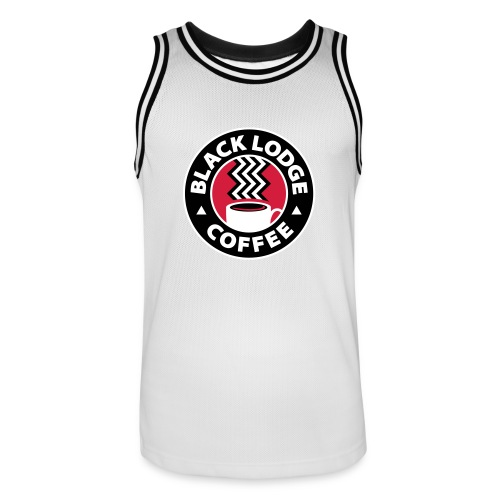 Black Lodge Basketball Shirt TwinPeaks - Men's Basketball Jersey