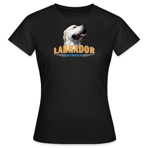 Cooles Labi T-Shirt für die Hundemama mit Labrado - Frauen T-Shirt