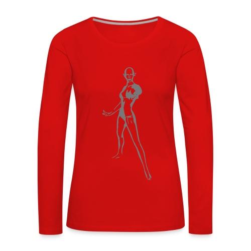 Elfen Langarm-Shirt - Frauen Premium Langarmshirt
