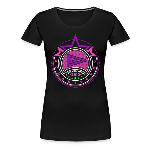 xWomen Pink Lila - Frauen Premium T-Shirt