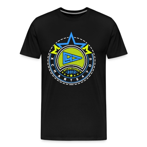 xMen Gelb Blau - Männer Premium T-Shirt