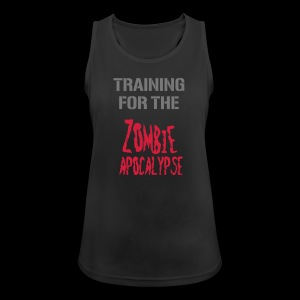 Training for the Zombie Apocalypse - Frauen Tank Top atmungsaktiv