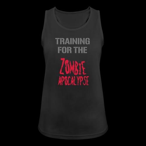 Training for the Zombie Apocalypse - Frauen Tank Top atmungsaktiv
