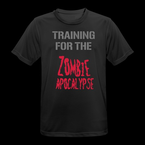 Training for the zombie apocalyse - Männer T-Shirt atmungsaktiv