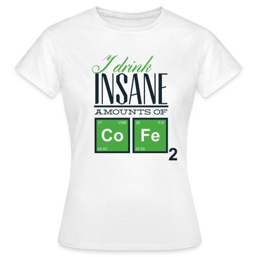 Breaking Coffee Shirt - Frauen T-Shirt