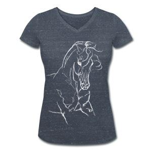 Iberer - Frauen Bio-T-Shirt mit V-Ausschnitt von Stanley & Stella