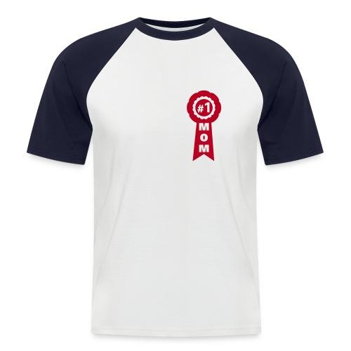 Mama's Nr. 1 - Männer Baseball-T-Shirt