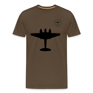 Mosquito Silhouette T-Shirt - Noble Brown - Men's Premium T-Shirt