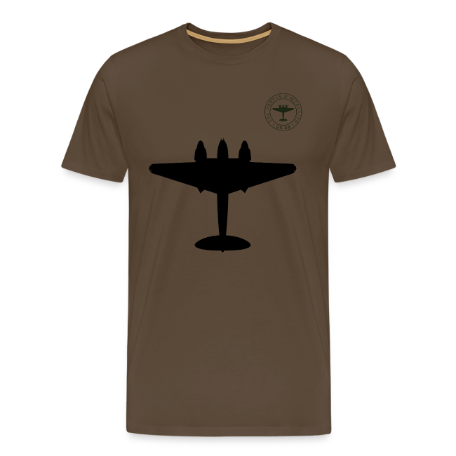 Mosquito Silhouette T-Shirt - Noble Brown