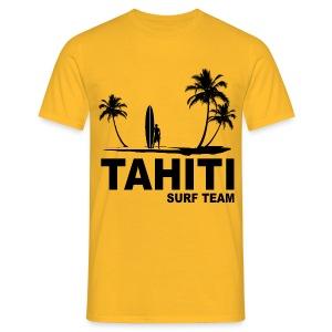 Tahiti surf team - Men's T-Shirt